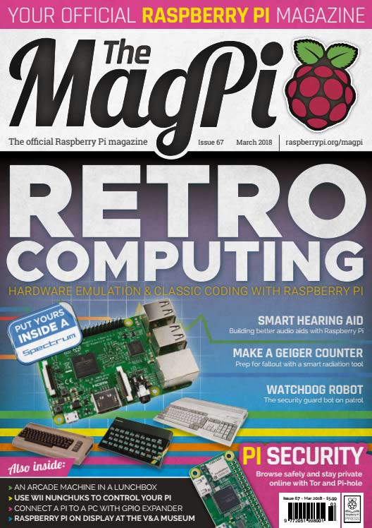 The MagPi #67