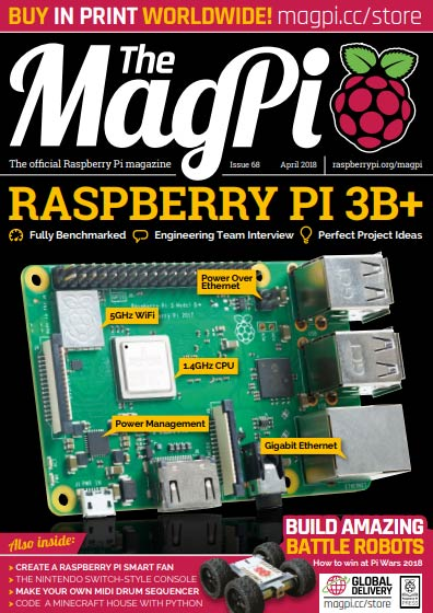 The MagPi #68