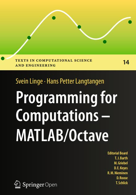 Programming for Computations – MATLAB/Octave