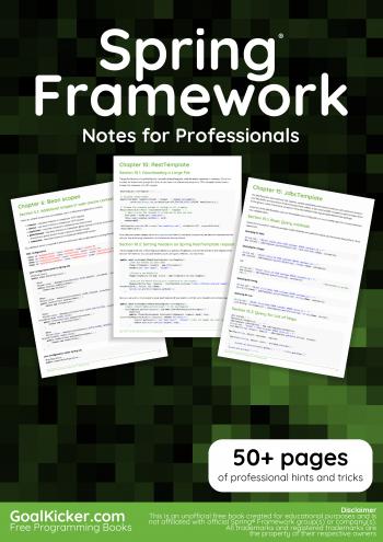 libro de spring framework en español pdf