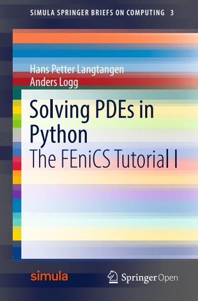 Solving PDEs in Python