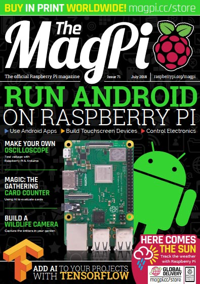 The MagPi #71