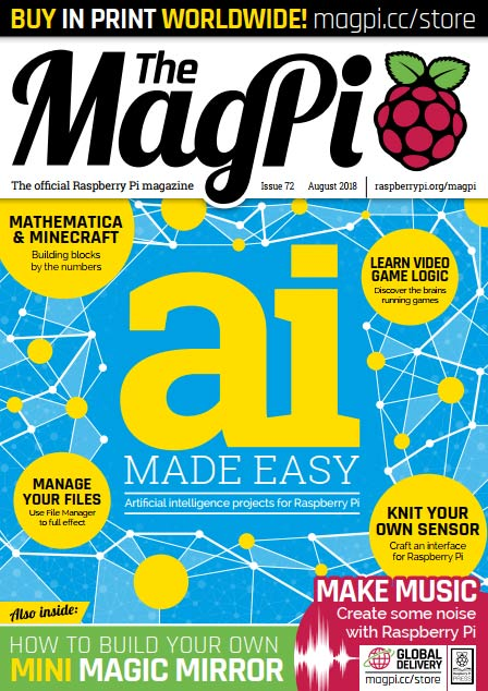The MagPi #72