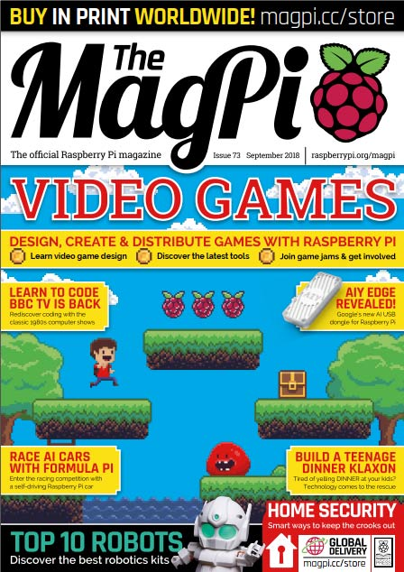 The MagPi #73