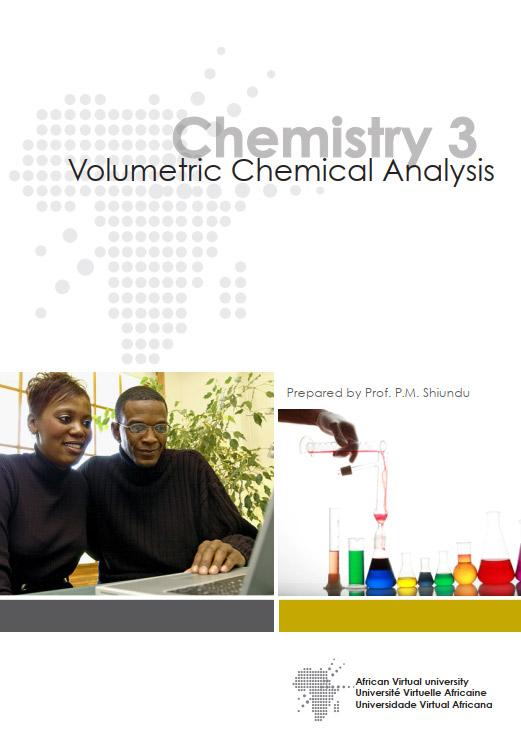 Chemistry 3: Volumetric Chemical Analysis