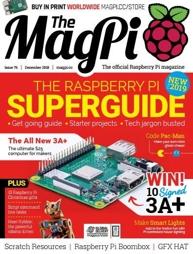 The MagPi #76
