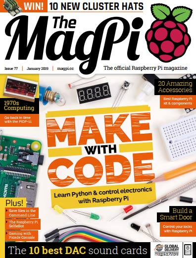 The MagPi #77